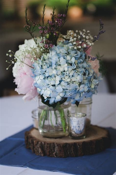 blue hydrangea centerpiece 25 best ideas about blue hydrangea centerpieces on baby boy centerpieces boy