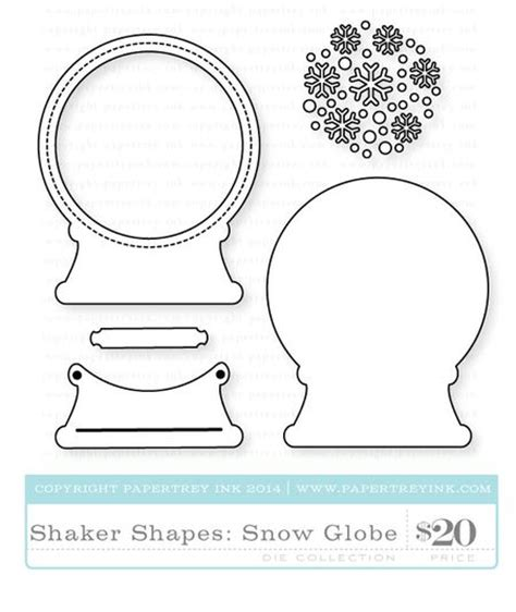 snow globe card template capture the moment introducing sparkle shine and new