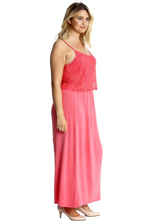 C C Californias New Summer Dresses by New Womens Maxi Dress Plus Size Floral Lace