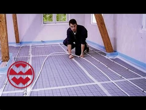 Parkett Verlegen Fußbodenheizung 5302 by Fu 195 Bodenheizung Videolike