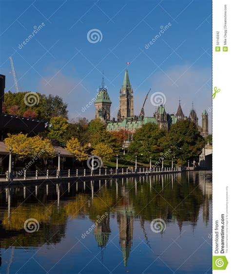 boat graphics ottawa parliament hill from the rideau canal editorial