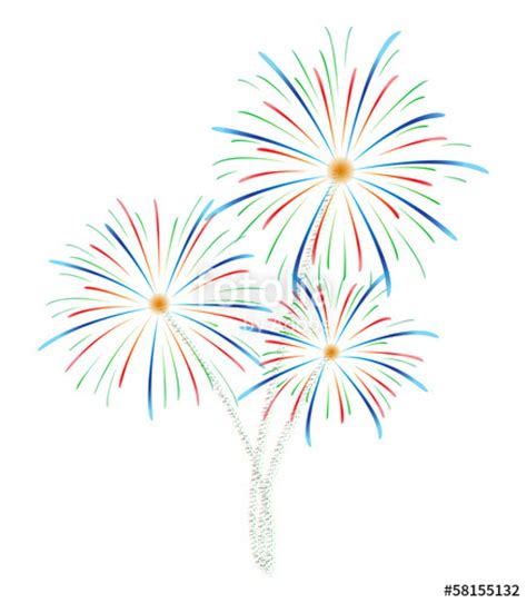 fuochi d artificio clipart quot fireworks vector illustration quot stock image and royalty