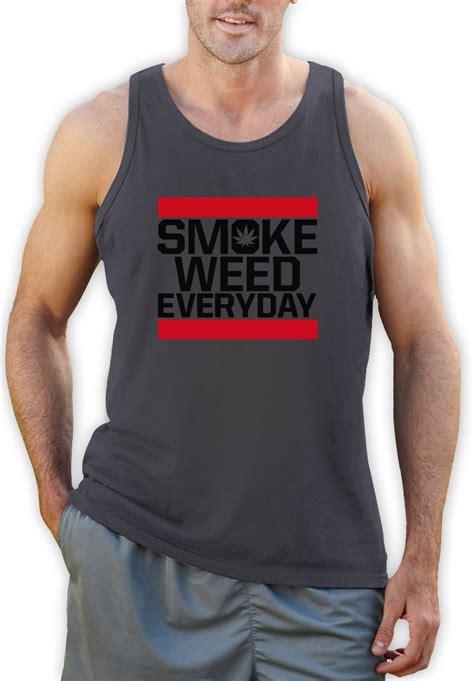 Tshirt Kaos 420 Marijuana The Owl smoke everyday singlet smoke cannabis dope swag fresh