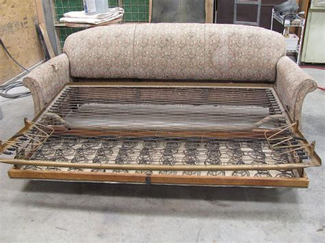 sofa repairs thomas nelson furniture restoration antique sleeper sofa