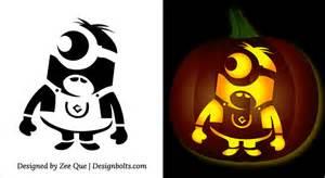 minion pumpkin template minion pumpkin o lantern stencils carving pattern