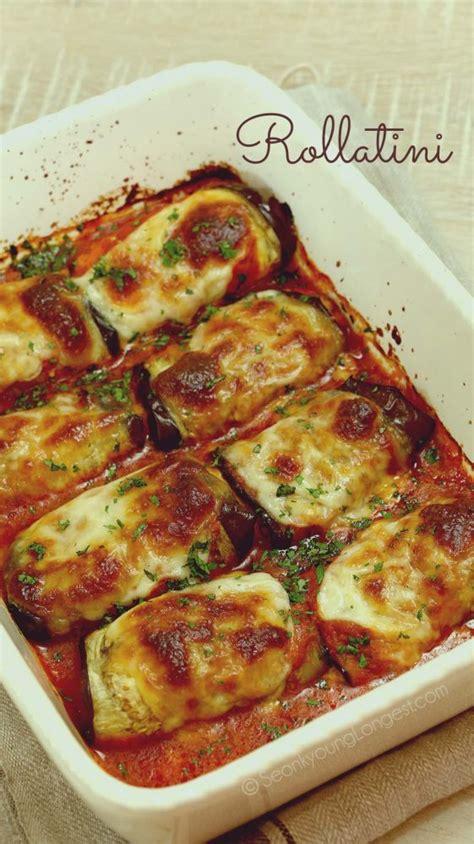 eggplant rollatini recipe video seonkyoung longest