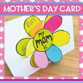 latest mother s day cards mother s day card a flip the flap flower card for mom and
