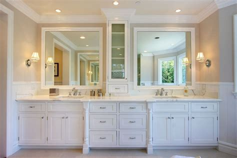 master bath in white traditional traditional master bathroom with inset cabinets master bathroom in pacific palisades