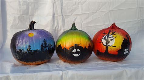 pumpkins painted painted pumpkins