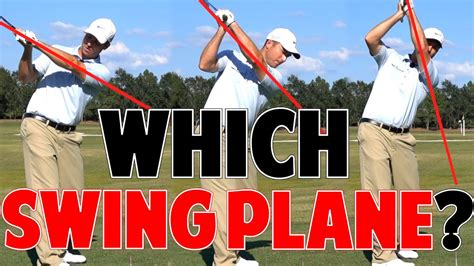 one plane swing one plane vs two plane golf swing which is better