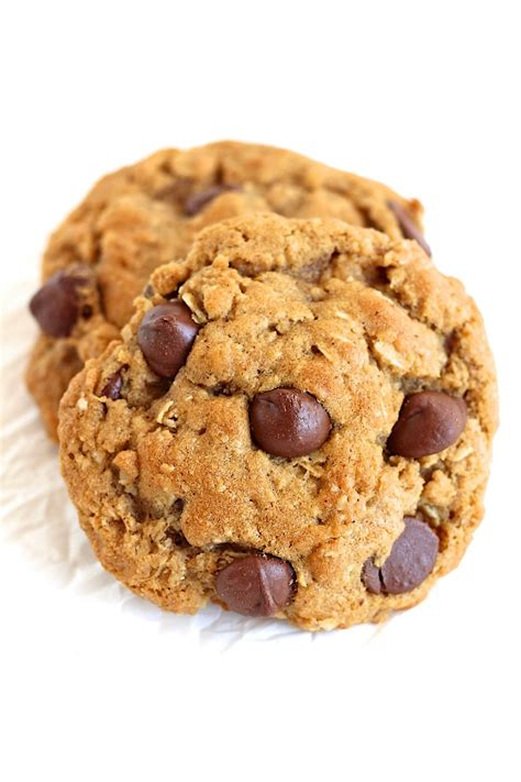 Do You Like Raisins In Your Cookies by Oatmeal Chocolate Chip Cookies The Bakermama