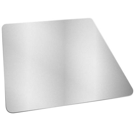 Chair Mat by Deflect O Floor Clear 46 In X 60 In Vinyl Economat