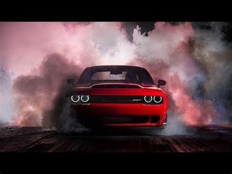 2018 dodge challenger srt demon insane burnout