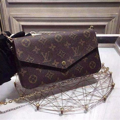 Wnew Arrival New Lv Wallet With Best new arrival lv felicie chain wallet m61276 china trading company handbags bags cases
