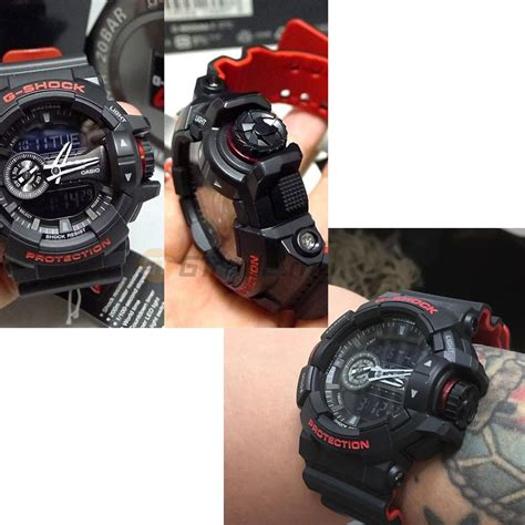 Casio Gshock Ga400 Redgrey casio g shock ga 400hr 1a analog dig end 4 17 2019 5 01 pm