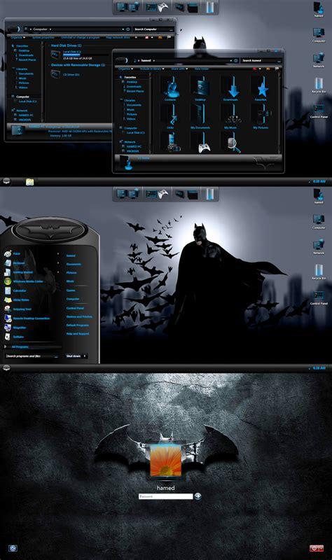 download theme windows 7 batman batman skinpack for windows 7 windows10 themes i cleodesktop