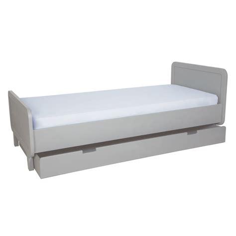 tiroir lit enfant rond gris clair laurette pour chambre enfant les enfants du design