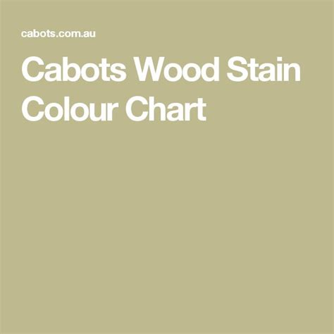 wood stain color chart ideas  pinterest stain