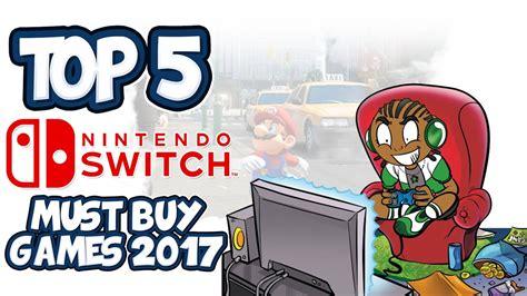 best nintendo top 5 best nintendo switch 2017