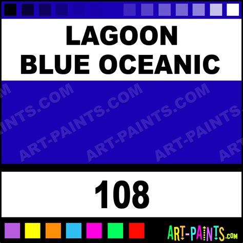lagoon blue oceanic perfumed colour ink calligraphy inks pigments and paints 108 lagoon