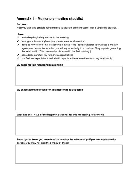 mentoring agreement template amazing mentoring agreement template contemporary