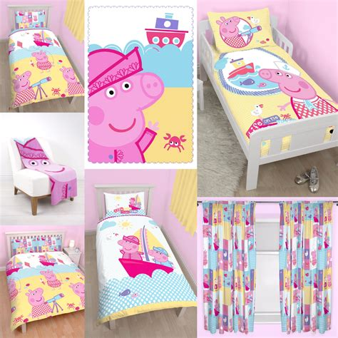 peppa pig bedroom decor new peppa pig nautical design bedroom choose one or more