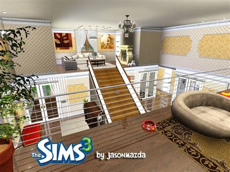 3 Bedroom Ranch Floor Plans by The Sims 3 House Designs Royal Elegance Youtube