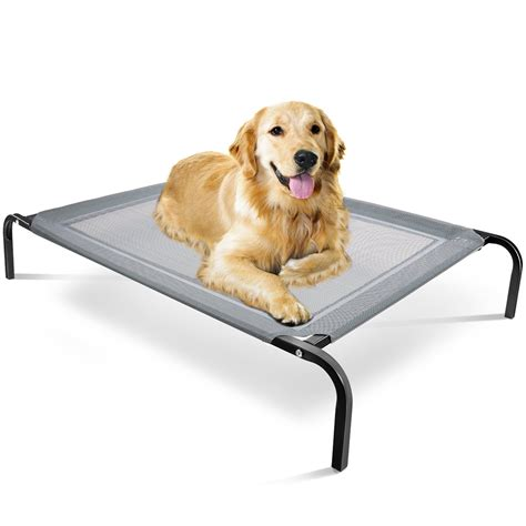 elevated pet bed oxgord elevated dog bed lounger sleeper pet cat cot