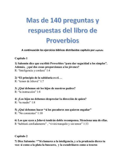 preguntas capciosas de la biblia adventista a continuaci 243 n los ejercicios b 237 blicos distribuidos