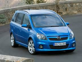 Opel Zafire Opel Zafira Opc Technical Details History Photos On