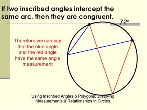 one arcs 14 1 inscribed angles and intercepted arcs