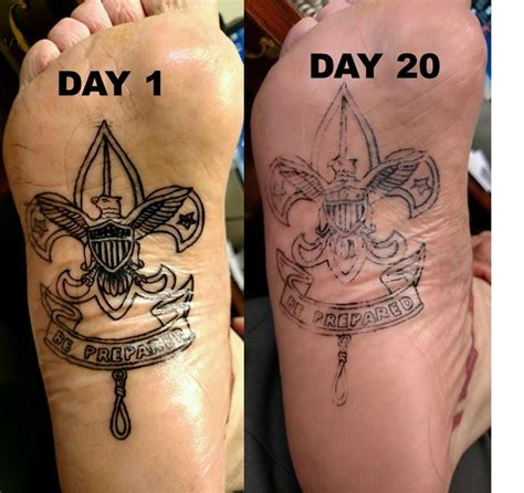 top of foot tattoo bottom of foot images