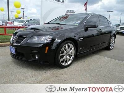 pontiac g8 for sale cheap pontiac g8 for sale in houston for sale