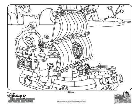 barcos para colorear de piratas barco pirata de jake para colorear todo peques