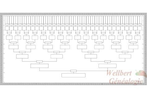printable family tree 7 generations family tree chart 7 generations printable empty to fill in