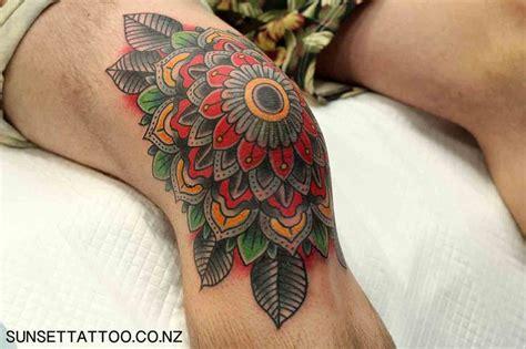 tattoo school new zealand tom traditional flower tattoo knee tattoo new zealand