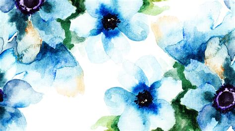 wallpaper craft pinterest watercolor floral blues hd desktop background wallpaper