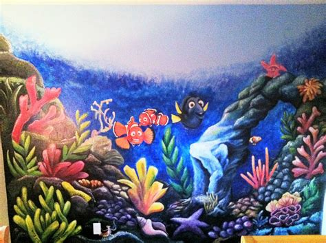 nemo wall mural finding nemo wall mural by lingxchan on deviantart