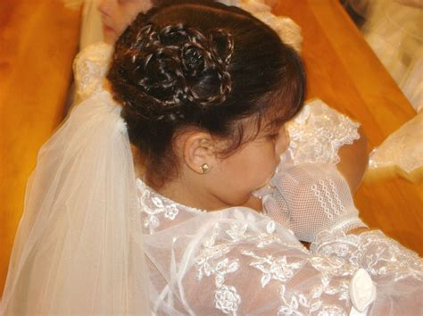 girls hairstyles for first holy communion first communion hairstyles newhairstylesformen2014 com