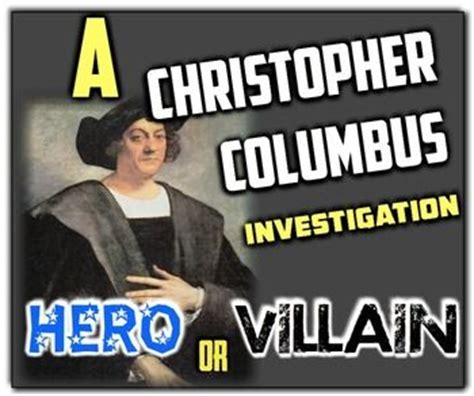 Christopher Columbus Or Villain Essay by The World S Catalog Of Ideas
