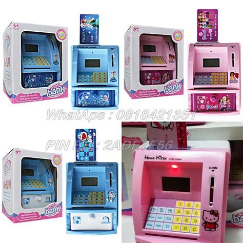 Mainan Anak Berkualittass Celengan Atm Paw Patrol With Limited kartu mainan hello dhian toys
