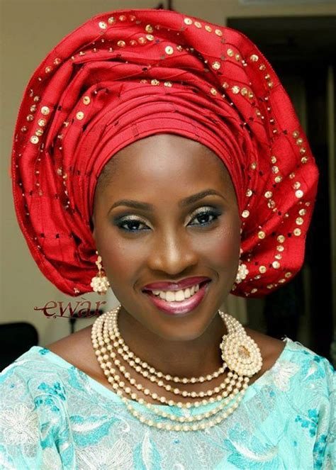 new styles guide to tying nigerian traditional head tie 17 pretty perfect sequin gele head ties nigerian bride