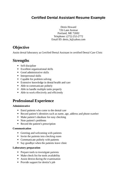 resume format for dentist freshers assistant b tech sle resume for freshers essay