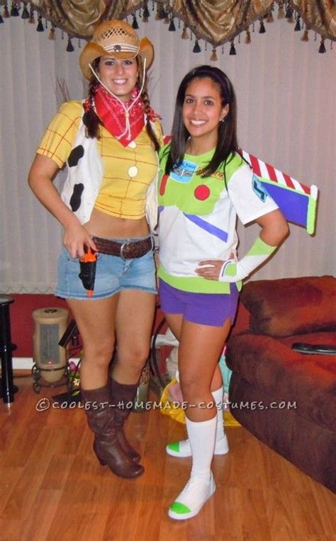 coolest diy costume idea story buzz lightyear and woody costume buzz lightyear woody and woody costume