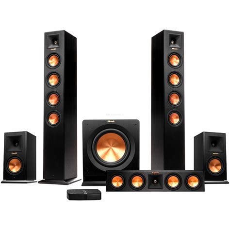 klipsch rp 440wf hd wireless home theater package