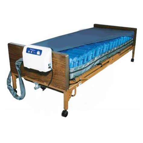 Low Pressure Air Mattress by Med Aire Plus Alternating Pressure Air Mattress Overlay