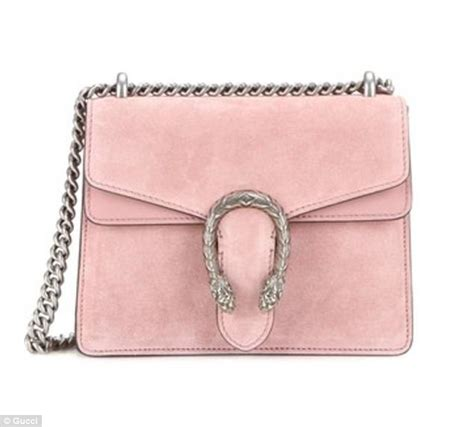 Garucci Bag Pink 2 primark produces a 163 10 copy of gucci s 163 1 710 dionysus bag daily mail