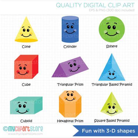shape clip clipart 3d shapes 101 clip