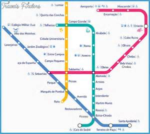 Lisbon Subway Map by Lisbon Metro Map Travel Map Vacations