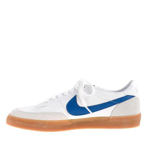 killshot 2 sneakers j crew nike killshot 2 sneakers for jcrew in white for